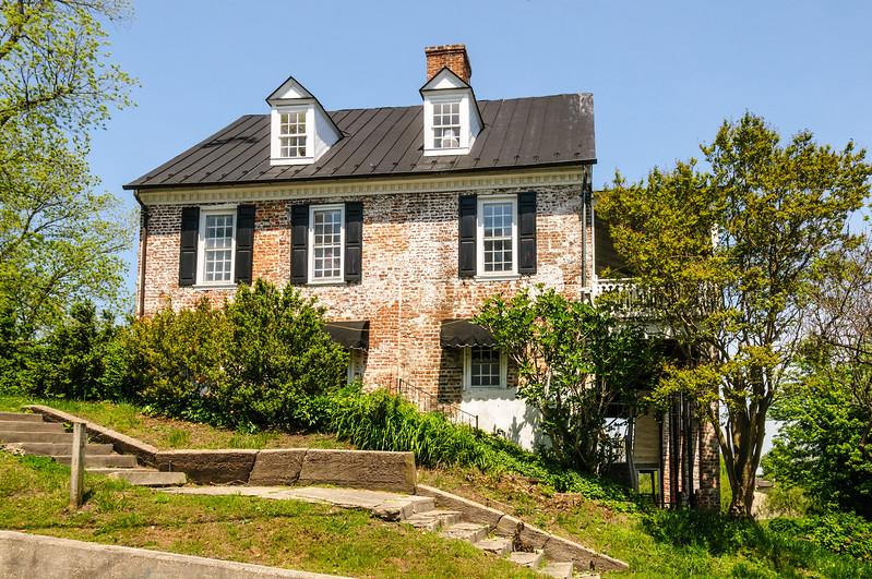 Latane-Customs House, 109 Prince Street, Tappahannock, Virginia