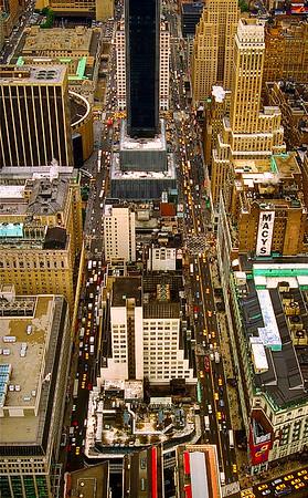 View of New York City #2 - Facing North, NYC, USA
