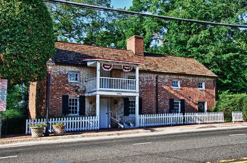 Ratcliffe-Allison House (Earp's), Fairfax City, Virginia