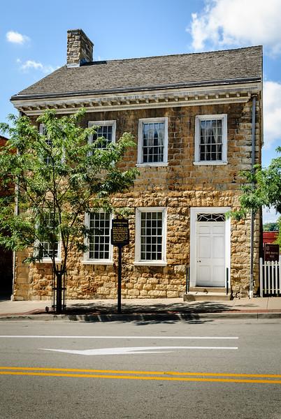 David Bradford House, 175 South Main Street, Washington, Pennsylvania