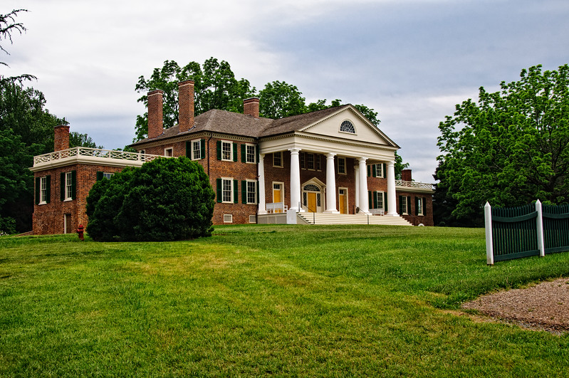 Main House, James Madison's Montpelier, Orange County, Virginia