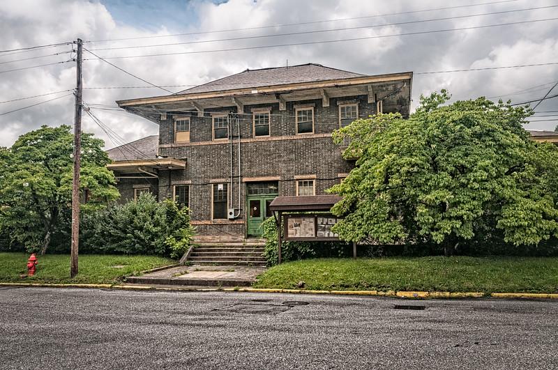 C&O Railroad Depot at Ronceverte, West Virginia