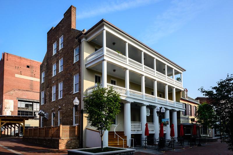 Restored Taylor Hotel, Loudoun Street Pedestrian Mall, Winchester, VA