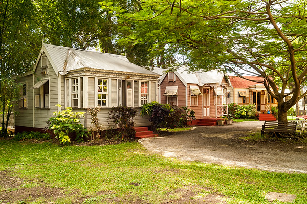 Chattel Houses, Tyrol Cot Heritage Village, St Michael, Barbados