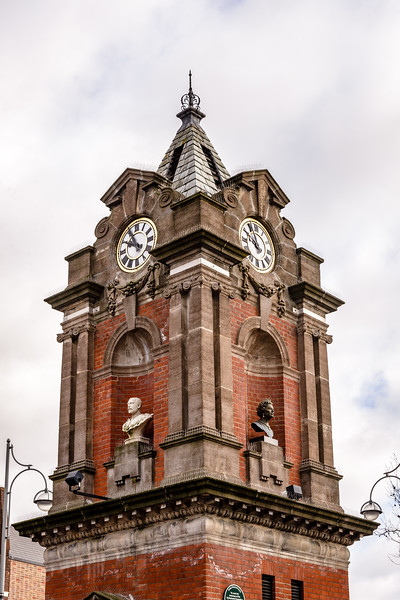 Bexleyheath Coronation Memorial Clock Tower, Market Place, Bexleyheath, London, England