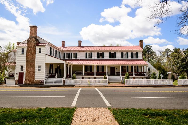Barksdale Theatre, Hanover Tavern, Hanover County Courthouse, Hanover, Virginia