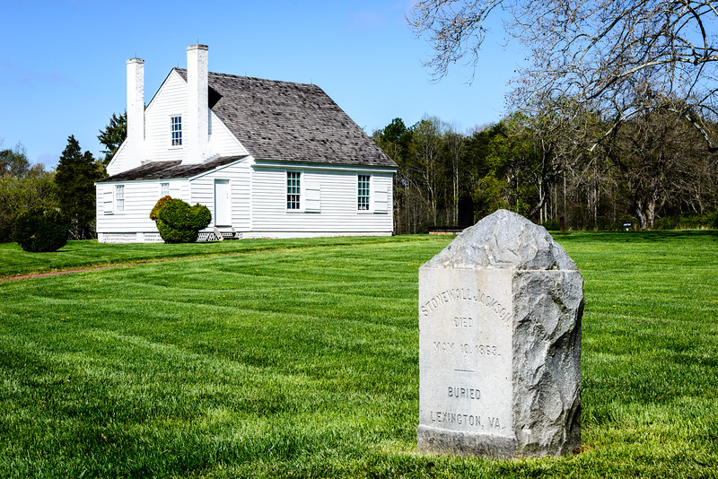 Stonewall Jackson Shrine, Chandler Plantation, Guinea Station, Woodford, Virginia