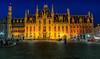 160723 - 8690  Provincial Court on Market Square - Bruges, Belgium