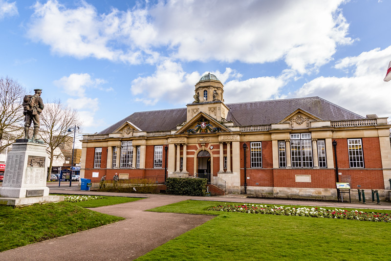Dartford Library, Central Park, Market Street, Dartford, Kent