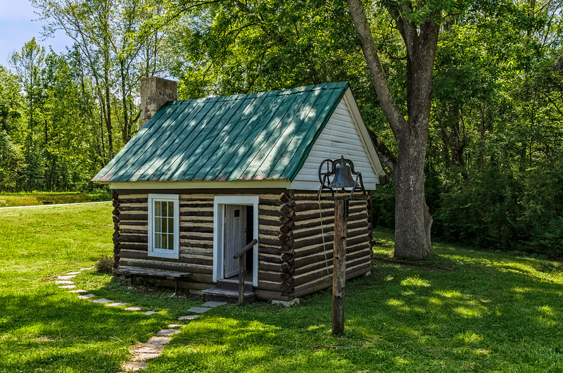 Eastern View Schoolhouse, Courthouse Tavern Museum, King & Queen Court House, Virginia
