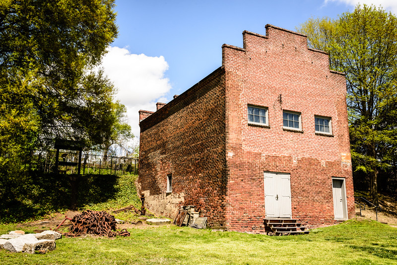 Company Store Building, Historic Tredegar Iron Works, Richmond, Virginia