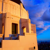 View of Griffith Observatory #5 with City of Los Angeles in Background - LA, CA, USA