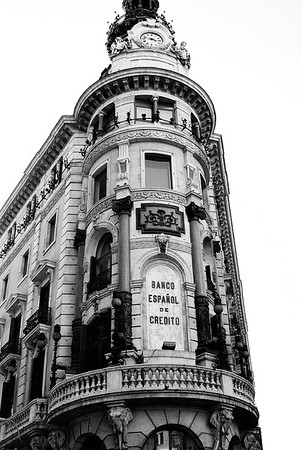 Building Architecture #17a - Madrid, Spain