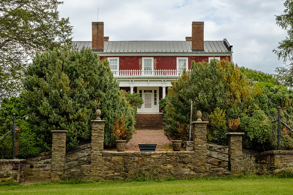 Ben Venue Plantation House (William Fletcher House), Ben Venue Road, Flint Hill, Virginia