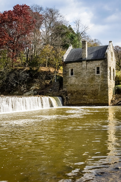 Chester water Authority Stone Water Works Building, Octoraro Creek, Pennsylvania