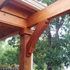 New pergola to new patio addition, detail.