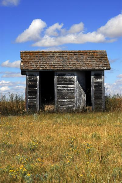 North Dakota Outhouse - 01