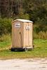 Porta-Potty on Wheels, Filmore County, Minnesota