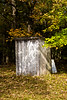 Outhouse and Old School Door, Monroe County, Wisconsin