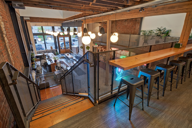 Portland Food Hall, Downtown Portland OR; Client: Brett Schultz, Architect (Shea Gilligan), Portland OR