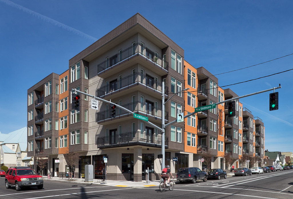The Wilmore Apartments, Portland OR - Client:  Studio 3 Architecture, Salem OR
