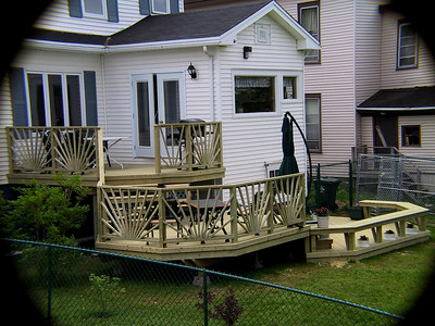 THREE TIERS PATIO DECKS - Second Edition 2005