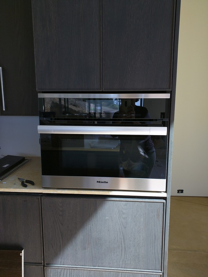 Miele Speed Oven!