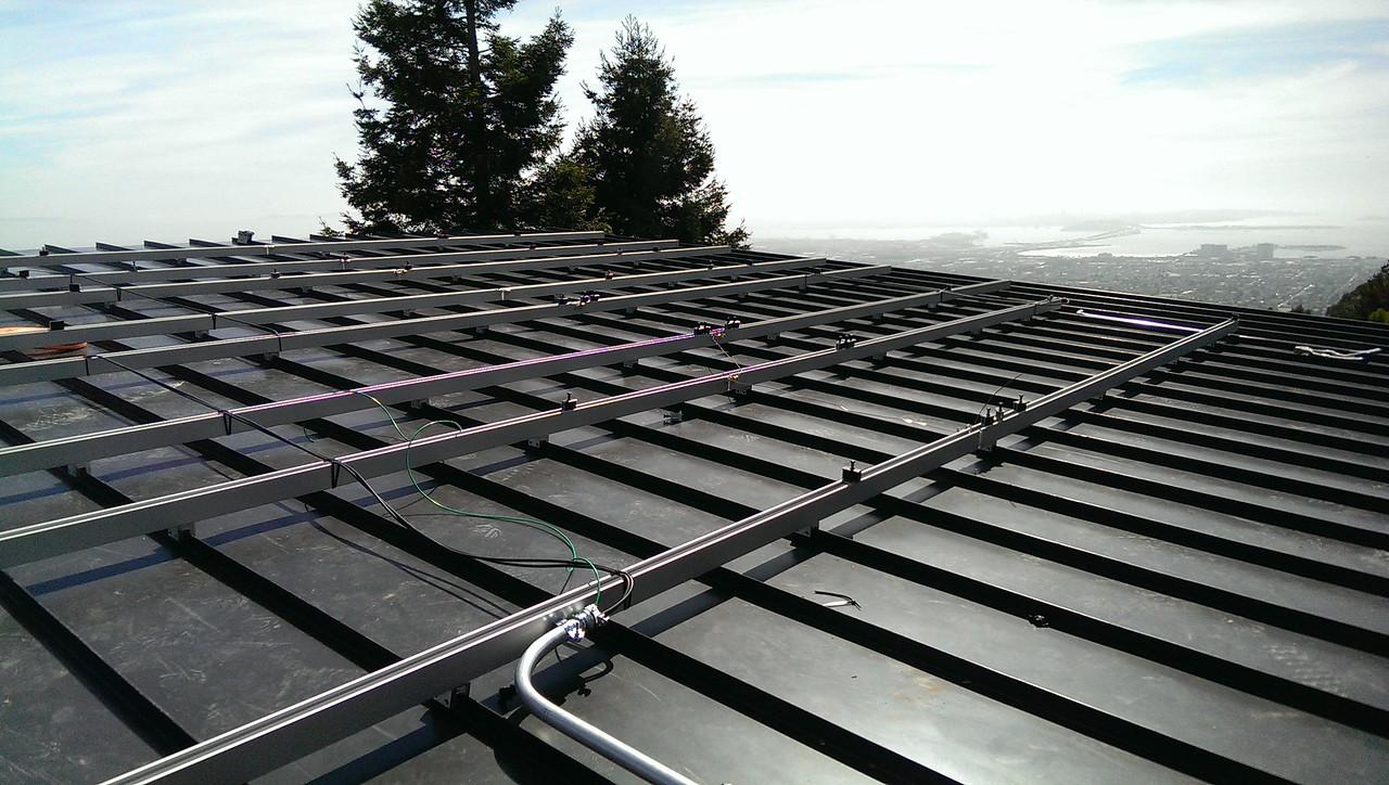 2014-04-28 solar, deck, drywall