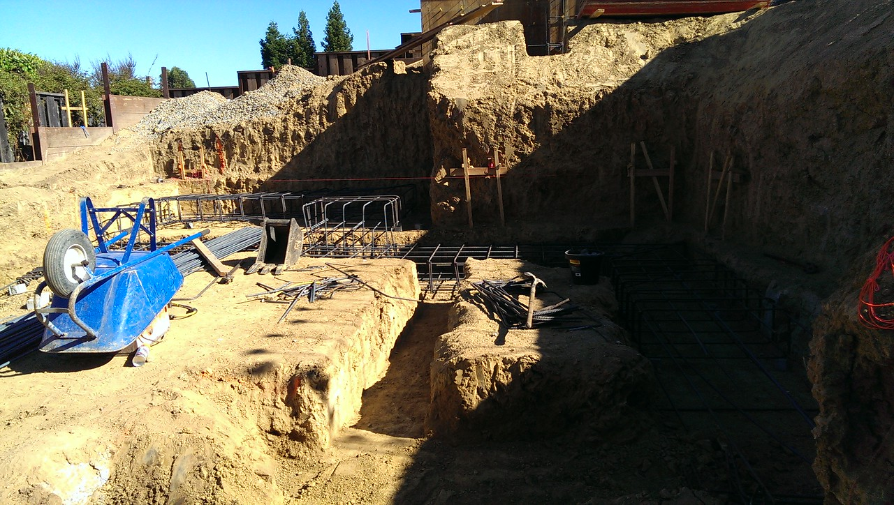 2014-07-03 Footings for the lower level