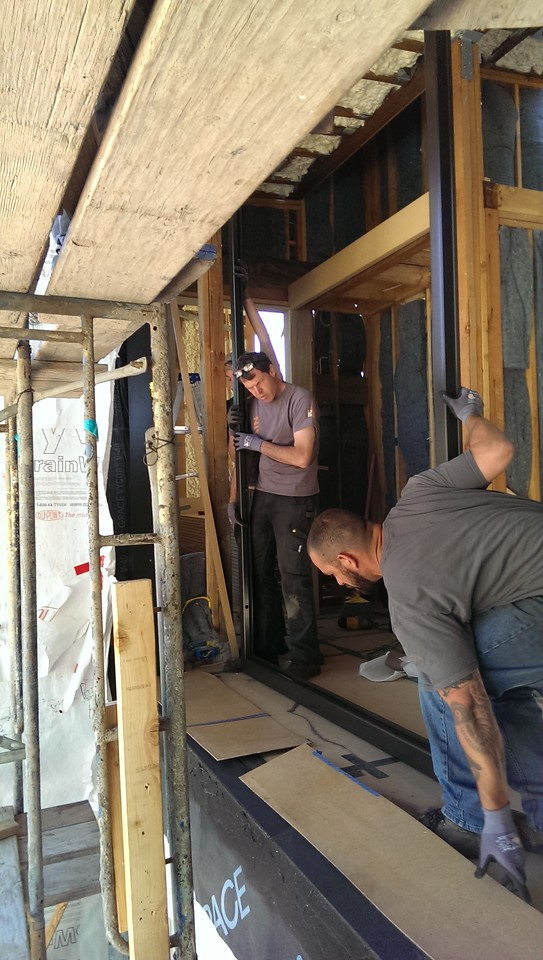 2015-04-17 Installing the front door assembly Irongrain