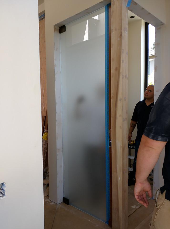 2015-07-20 Doors go in