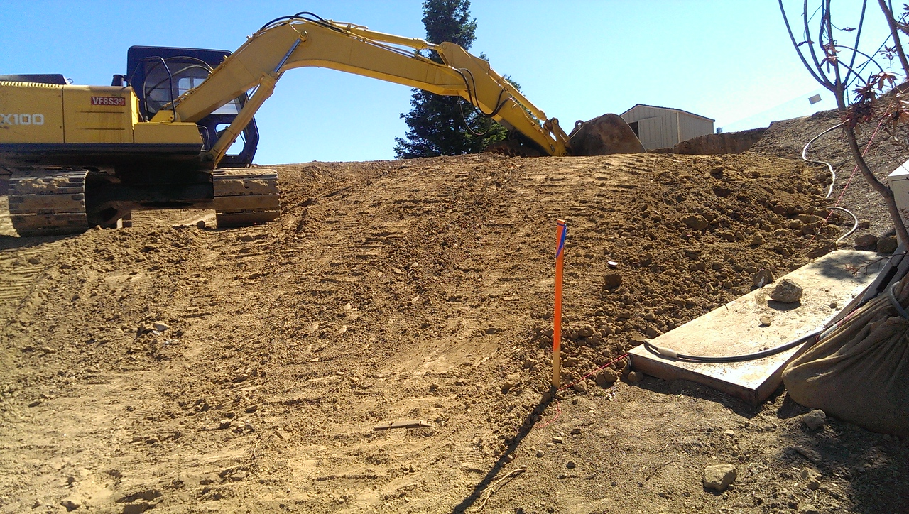 2014 Excavation and grading