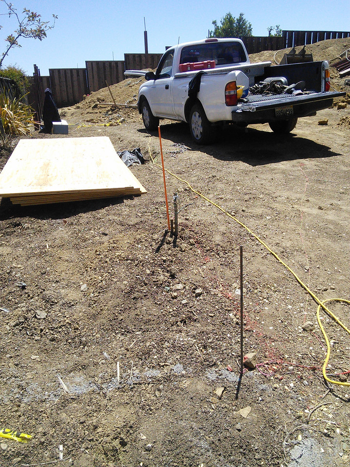 2014-06-03 Excavating for utilities
