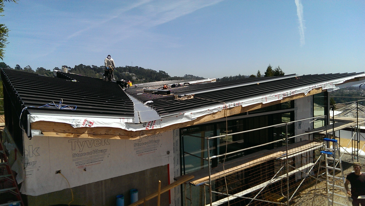2015-04-13 Roof and Landscaping