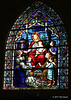 Stained Glass Windows, Nativity of Mary, Blessed Virgin Catholic Church.