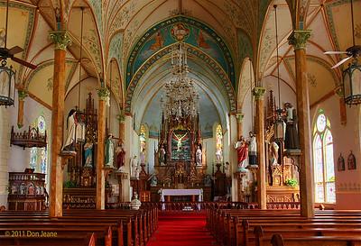 Painted Churches of Schulenburg, Texas.