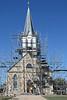 Exterior,  Saint  Mary's Catholic Church, Praha, Tx.