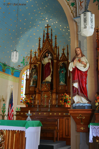 Interior, Saints Cyril & Methodius Catholic Church.