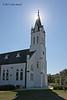 Exterior, Saints Cyril & Methodius Catholic Church, Dubina, Tx.