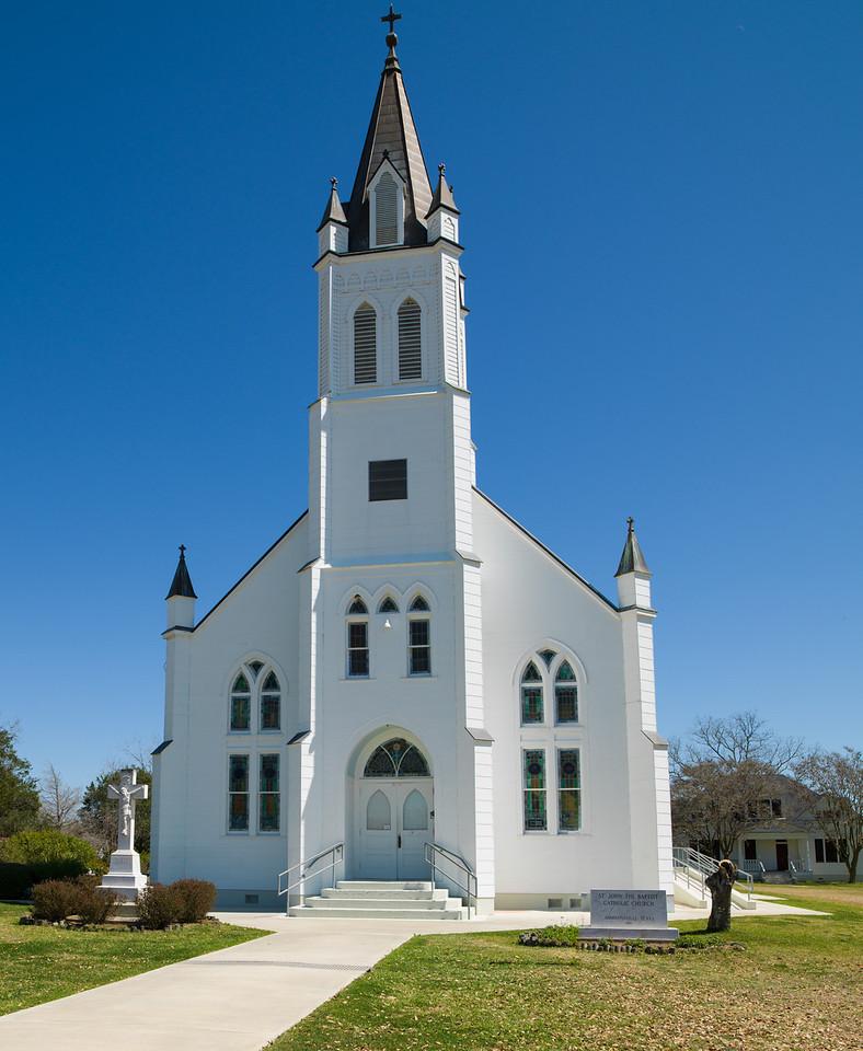 St John the Baptist, Ammannsville, TX