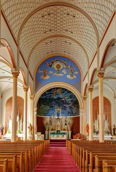 Saints Cyril & Methodius Catholic Church, Shiner, Tx.,  09/23/13.