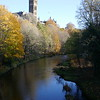 River Kelvin and Glasgow University