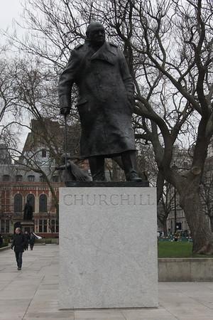 Winston Churchill (1874 to 1965)