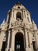 In 2003, the City Council approved a plan for the seismic retrofit, historic restoration and infrastructure improvements to ensure that Pasadena City Hall will continue to stand proud and serve the community for another 100 years. <br /> Seismic retrofit of the building included the installation of structural base isolators that now allow the building to withstand future earthquake activity.  Restoration activities were undertaken to  preserve many of the historic architectural elements of City Hall, which is listed in the National Register of Historic Places.
