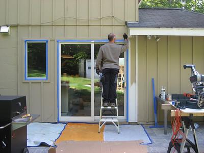Kitchen window and Slider