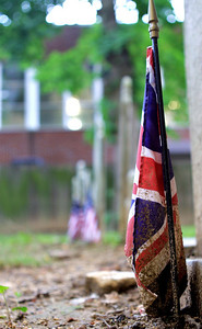 This was the only Union Jack I found in the Philadelphia cemeteries I visited.