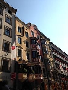 Innsbruch Architecture before PhotoShop