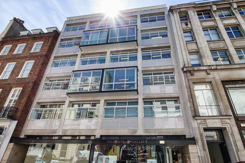 Erno Goldfinger building Albemarle St