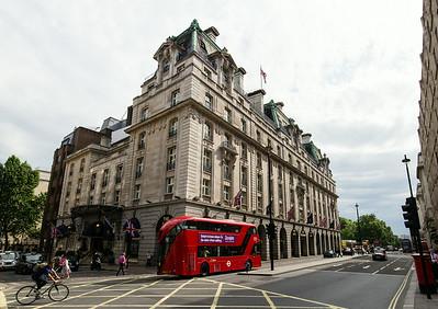 Ritz hotel 1906 - Heatherwick bus