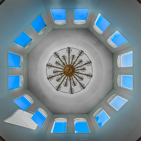 St. Katherine Ukrainian Orthodox Church, Ceiling, HDR, Minnesota, Arden Hills